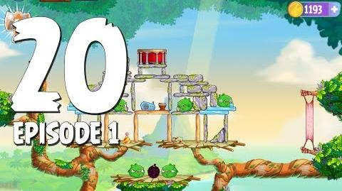 Angry Birds Stella Level 20 Walkthrough Branch Out Episode 1