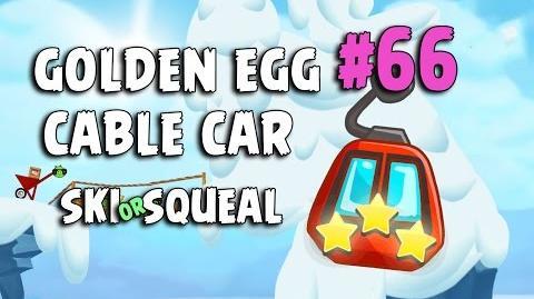 Angry Birds Seasons Ski or Squeal Golden Egg 66 Walkthrough