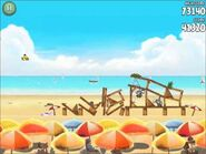 Official Angry Birds Rio Walkthrough Beach Volley 5-8