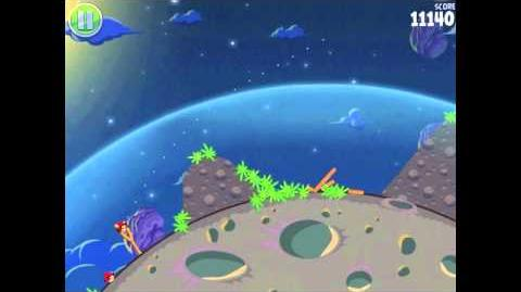 Angry Birds Space Pig Bang 1-6 Walkthrough 3-star