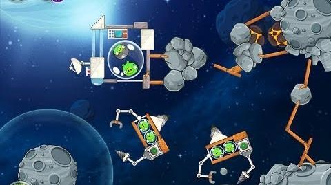 Angry Birds Space Beak Impact 8-13 Walkthrough 3 Star