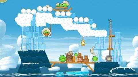 Angry Birds Seasons Arctic Eggspedition 1-24 Walkthrough 3 Star