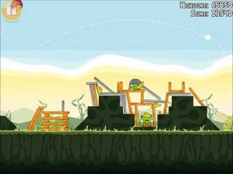 Official Angry Birds Walkthrough The Big Setup 9-12