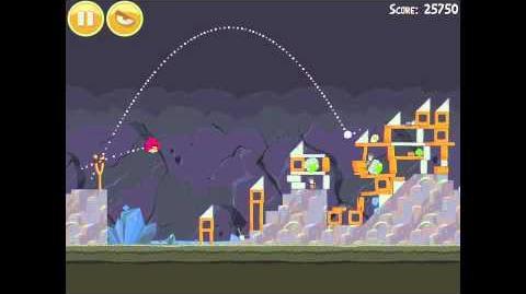 Angry Birds 17-1 Mine & Dine 3 Star Walkthrough