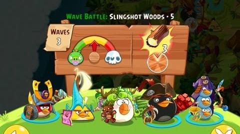 Angry Birds Epic Slingshot Woods Level 5 Walkthrough