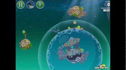 Angry Birds Space Pig Dipper 6-21 Walkthrough 3-Star