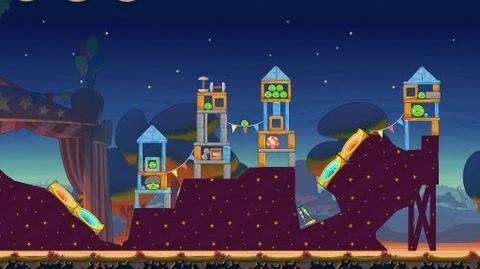 Angry Birds Seasons Abra-ca-Bacon 1-6 Walkthrough 3-Star