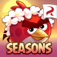 Angry Birds Seasons Square Icon Tropigal Paradise