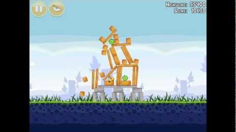 Angry Birds Poached Eggs 1-17 Walkthrough 3 Star