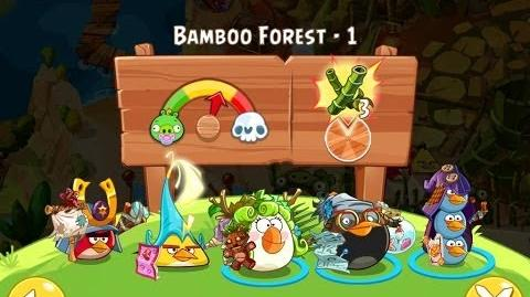 Angry Birds Epic Bamboo Forest Level 1 Walkthrough