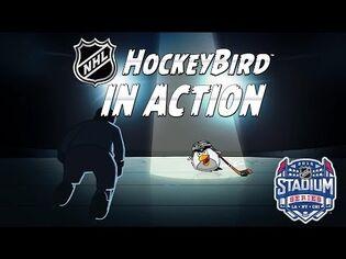 NHL HockeyBird goes to see Penguins-Blackhawks game!