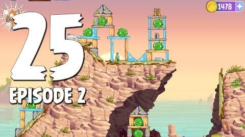 Angry Birds Stella Level 25 Episode 2 Beach Day Walkthrough