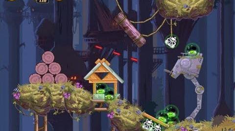 Angry Birds Star Wars 5-5 Moon of Endor 3 Star Walkthrough