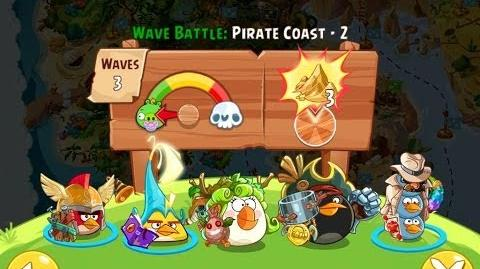 Angry Birds Epic Pirate Coast Level 2 Walkthrough