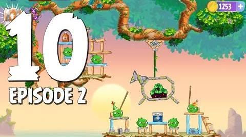 Angry Birds Stella Level 10 Episode 2 Beach Day Walkthrough