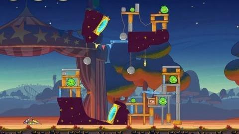 Angry Birds Seasons Abra-ca-Bacon 1-11 Walkthrough 3-Star