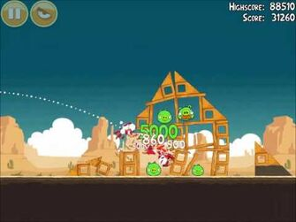 Official Angry Birds Walkthrough Ham 'Em High 13-6