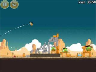 Official Angry Birds Walkthrough Ham 'Em High 13-1