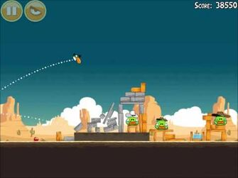 Official Angry Birds Walkthrough Ham 'Em High 13-1