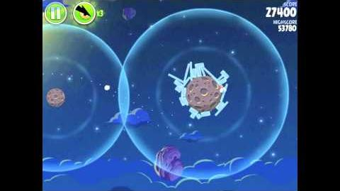 Angry Birds Space Pig Bang 1-12 Walkthrough 3-star