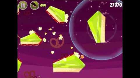 Angry Birds Space Utopia 4-6 Walkthrough 3-Star