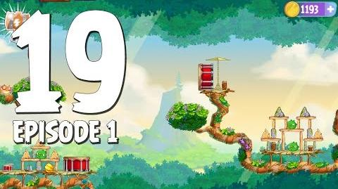 Angry Birds Stella Level 19 Walkthrough Branch Out Episode 1