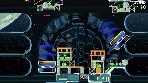 Angry Birds Star Wars 6-17 Death Star 2 Walkthrough 3 Stars