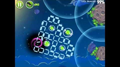 Angry Birds Space Pig Bang 1-11 Space Eagle Walkthrough