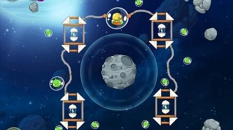 Angry Birds Space Beak Impact 8-15 Walkthrough 3 Star