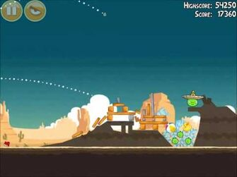 Official Angry Birds Walkthrough Ham 'Em High 13-8