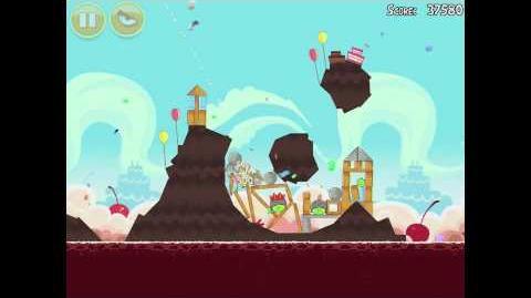 Angry Birds Birdday Party 18-8 Walkthrough 3 Star Birthday Party