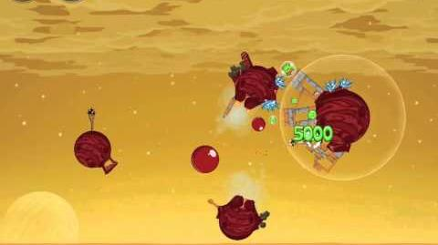 Angry Birds Space Red Planet 5-26 Walkthrough 3-Star