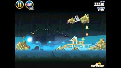 Angry Birds Star Wars 3-28 Hoth 3-Star Walkthrough