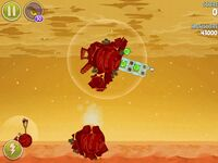Red Planet 5-1 (Angry Birds Space)