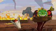 Crash Test Piggies Pig City Destroyed