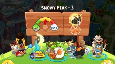 Angry Birds Epic Snowy Peak Level 3 Walkthrough