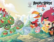 Angry birds comics - 12 sub ver cover