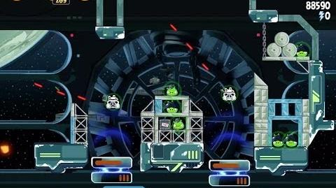 Angry Birds Star Wars 6-19 Death Star 2 Walkthrough 3 Stars