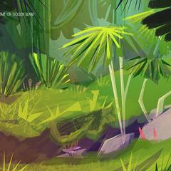 concept art del ambiente de juego