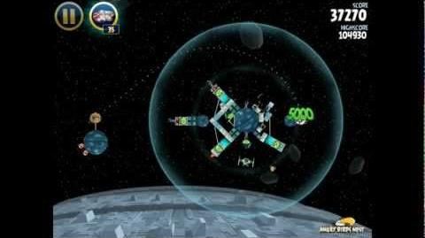 Angry Birds Star Wars 2-35 Death Star 3-Star Walkthrough