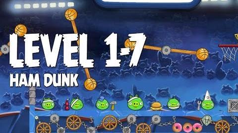 Angry Birds Seasons Ham Dunk 1-7 Walkthrough 3 Star