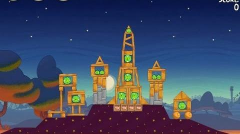 Angry Birds Seasons Abra-ca-Bacon 2-5 Walkthrough 3-Star
