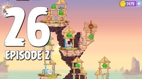 Angry Birds Stella Level 26 Episode 2 Beach Day Walkthrough