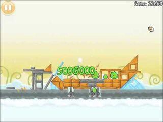 Official Angry Birds Walkthrough Danger Above 8-2