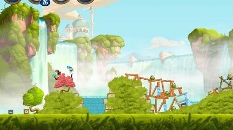 Angry Birds Star Wars 2 Level B1-10 Naboo Invasion 3 star Walkthrough