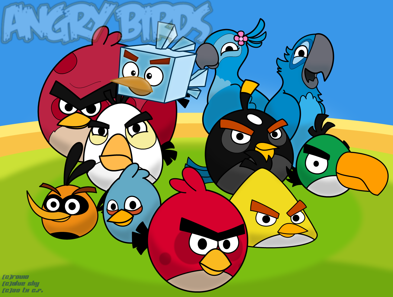 Image Angry birds wallpaper v2 by olocoonstitod4slmozpng
