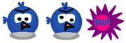 Old Blue Bird Sprites