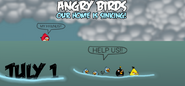 Angry Birds Our Home Is Sinking Teaser 1