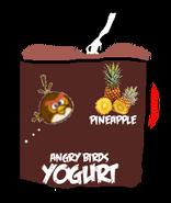 Angry Birds Pineapple Yogurt