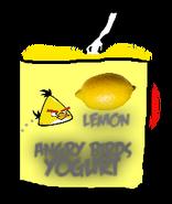Angry Birds Lemon Yogurt